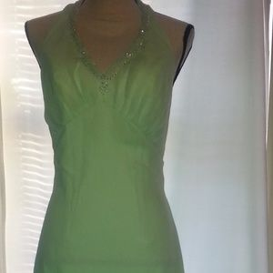 Eden Bridal Formal Collection Halter Dress Size 6
